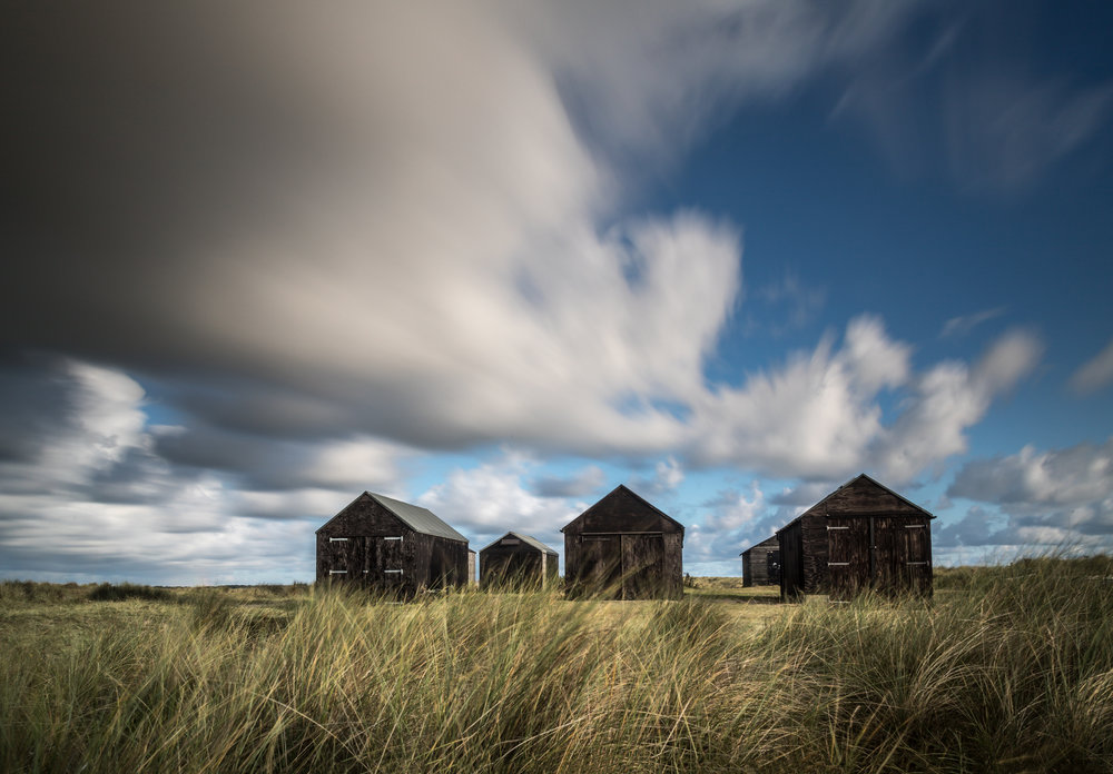 Fishing huts - Winterton, Norfolk
