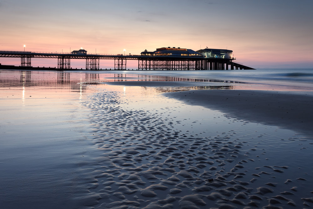 Dusk at Cromer Pier, Norfolk