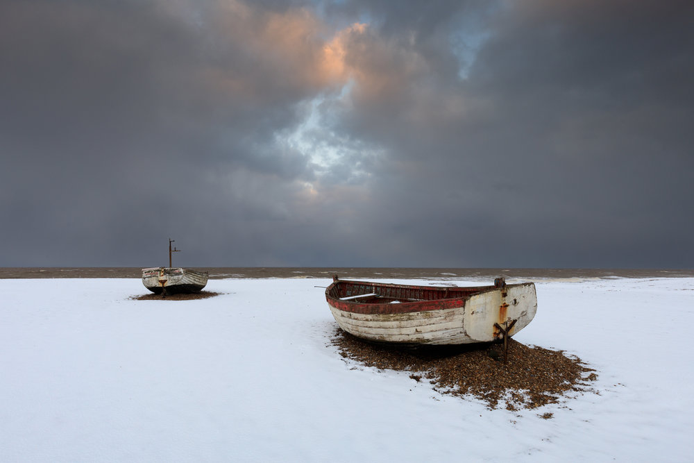 The last day of winter - Aldeburgh, Suffolk