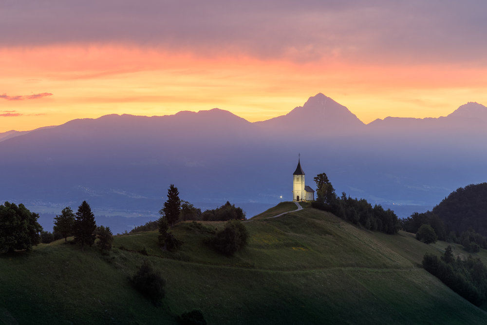 Church of Saints Primus and Felician - Jamnik, Slovenia