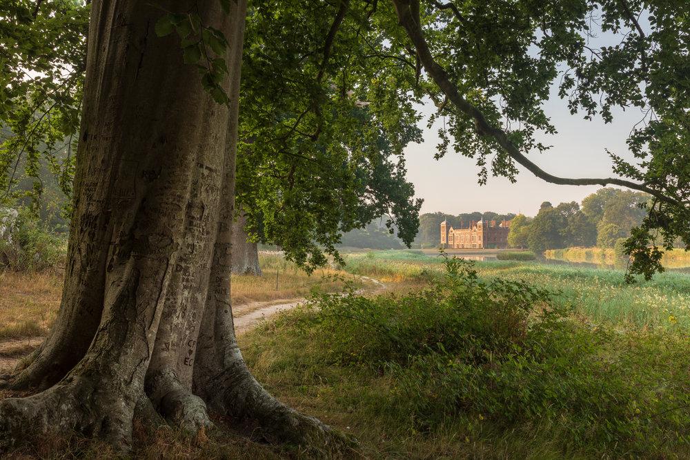 Blickling Hall, Norfolk in summer