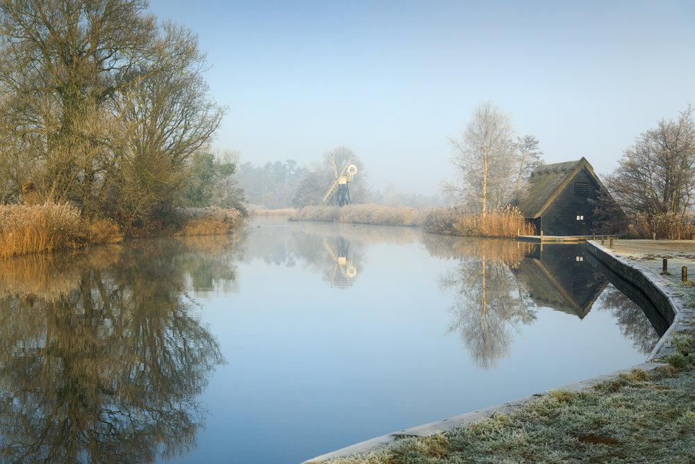 The boat house - Turf Fen, Norfolk