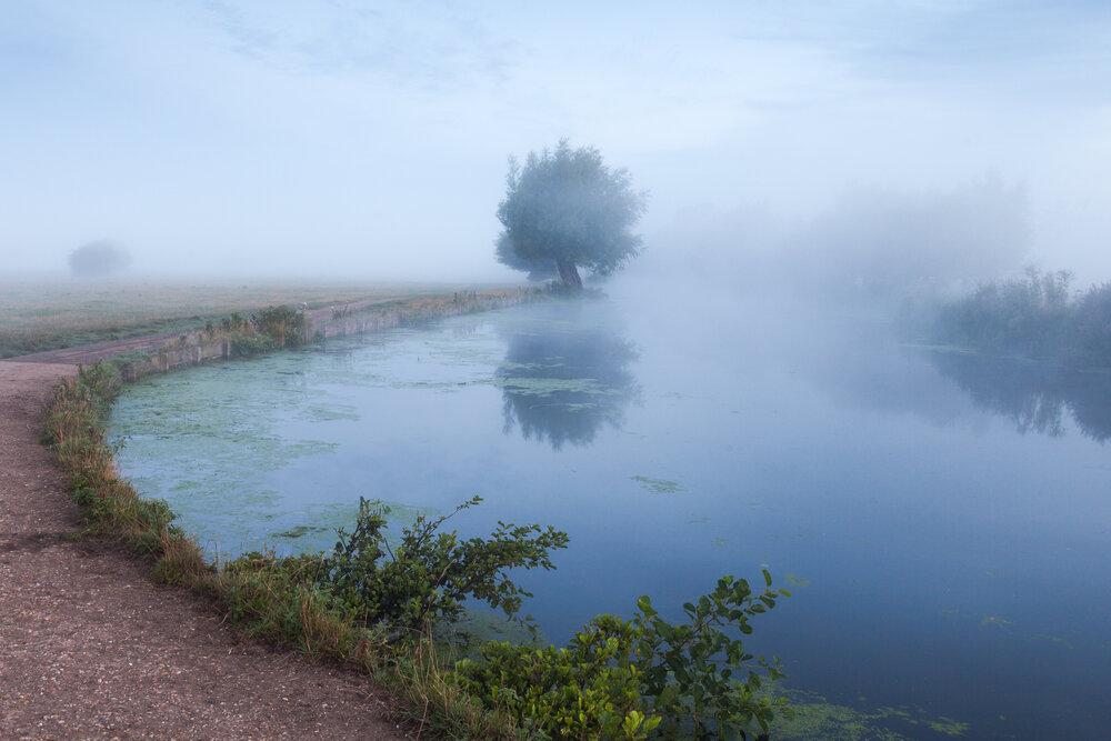 Receding - Flatford, Suffolk