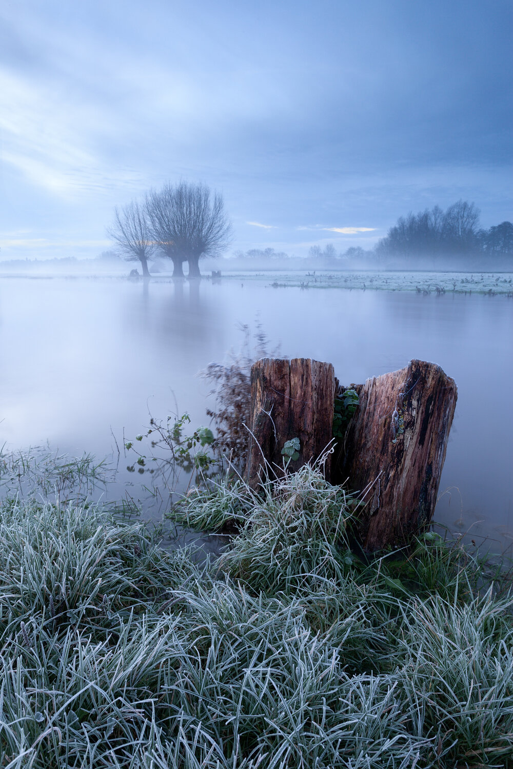 Winter on the River Stour, Suffolk
