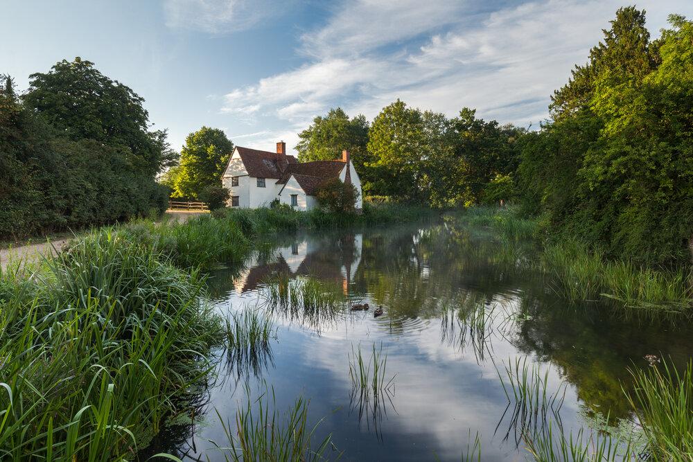 Willy Lott's cottage - Flatford, Suffolk