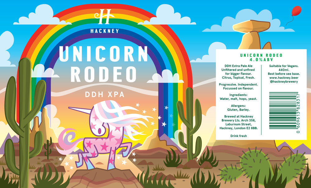 Hackney Brewery Unicorn Rodeo