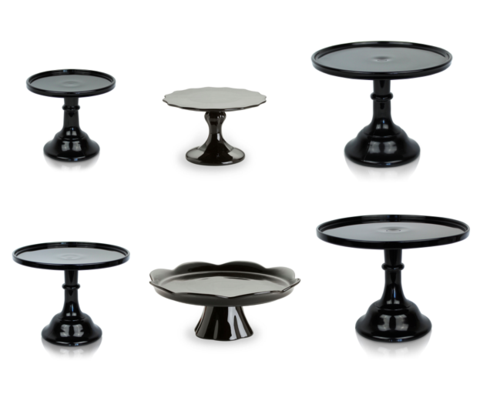 New Black Gold And Silver Cake Stands And Pedestals Julia S