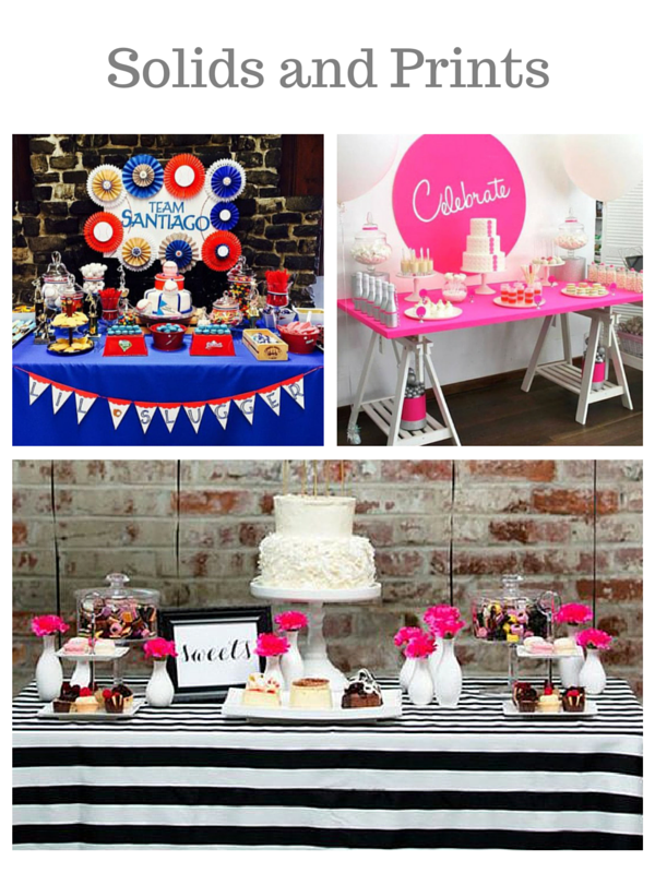 Photo credits:  Gilded Whimsy ,  Kara's Party Ideas ,  Wedding Chicks