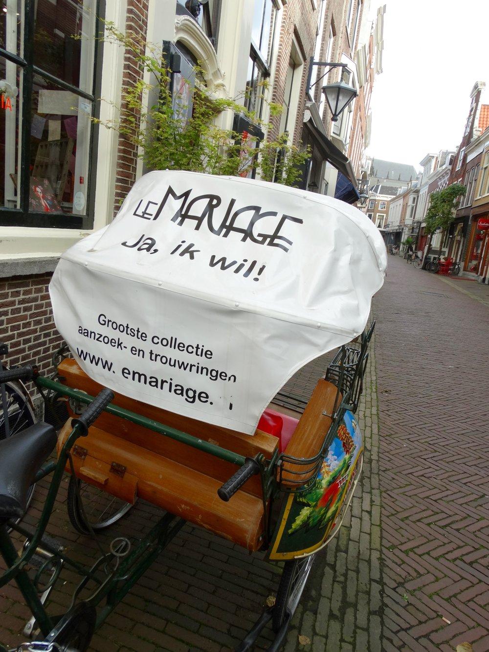 Mal etwas anderes. Ob man damit fahren kann? Impressionen aus Holland.