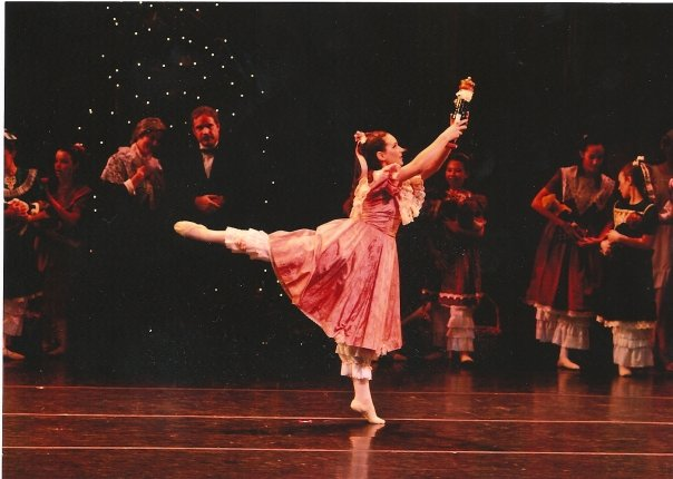 Me, as Clara in The Nutcracker. A true dream come true.
