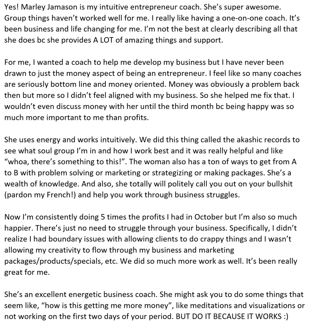 Catherine R email testimonial.PNG