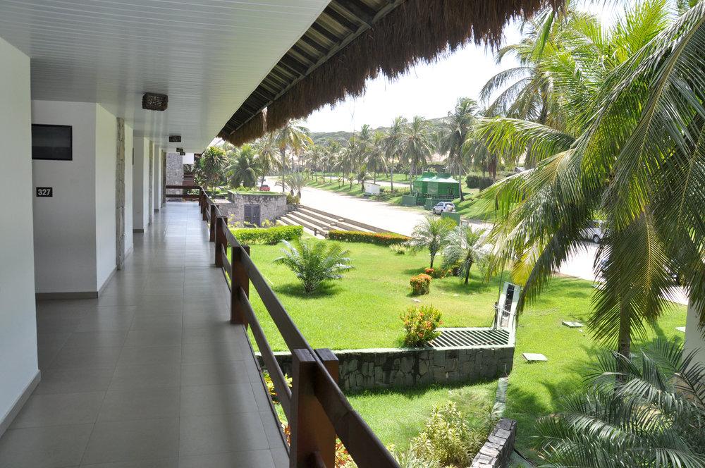corredores hotel
