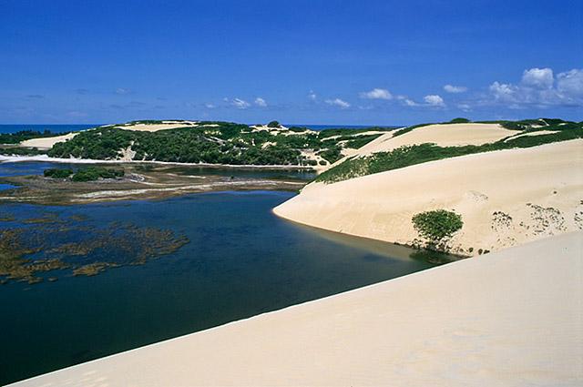 Dunas de Genipabu - Extremoz - RN14,6 quilômetros do alojamento