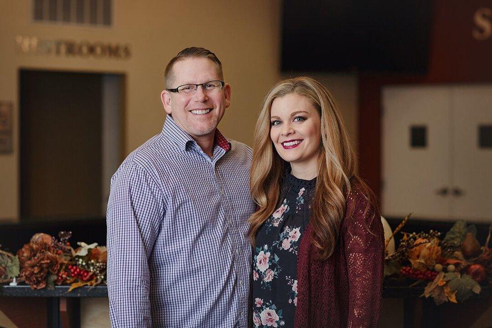 Senior Pastors  Dan & Melanie Dyer