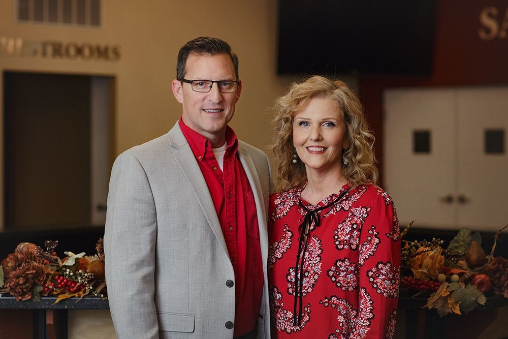 Executive Pastors  Chip & Lori Langley