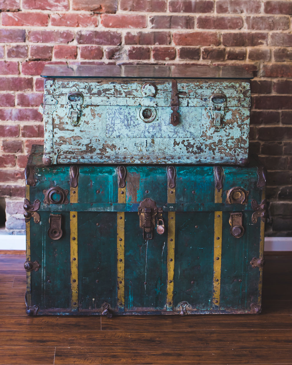 Trunks & Suitcases -