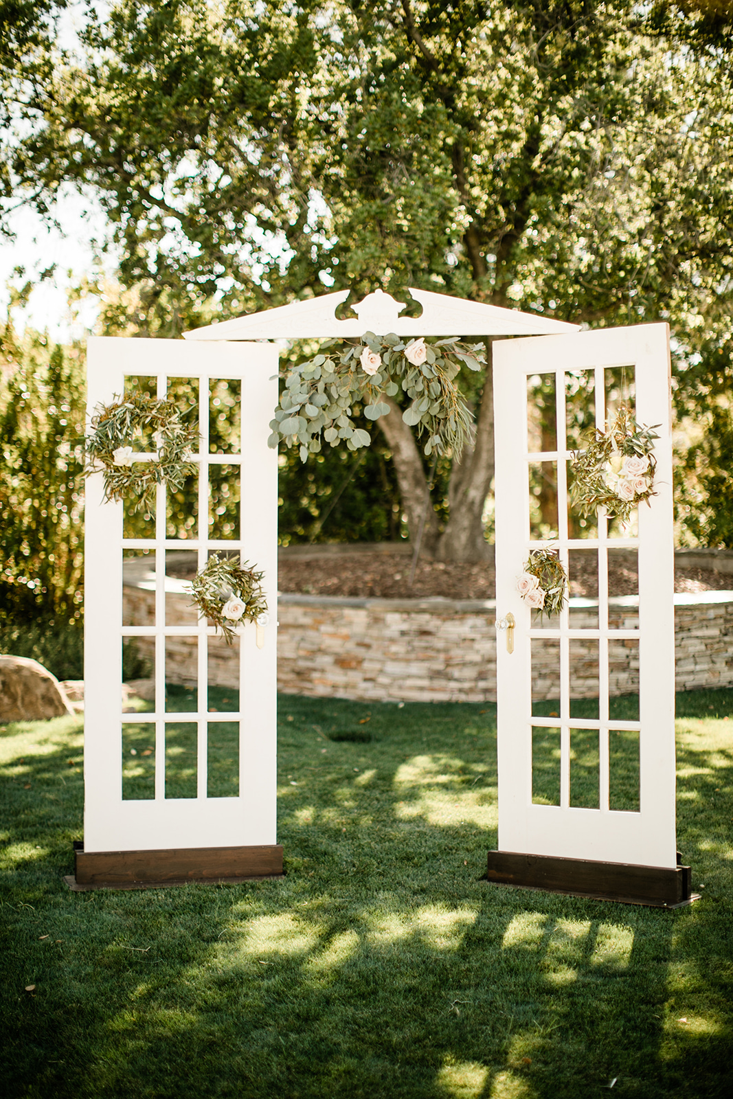 Genial The Antoinette French Door Arbor