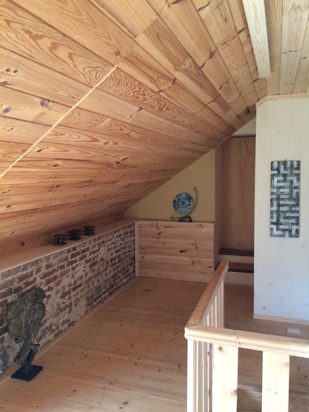Achterhuis: Hal op de zolder