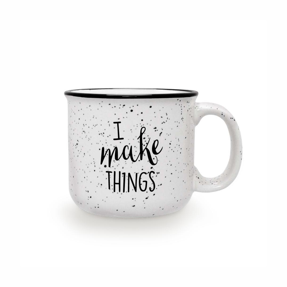 I Make Things Camping Ceramic Mug — Makeology