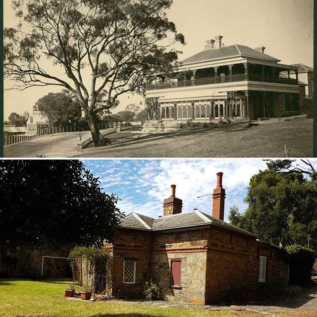 Birksgate Gatekeeper's lodge circa 1854.
