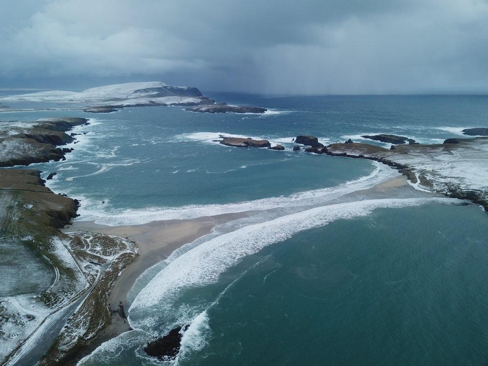 St Ninians Isle.