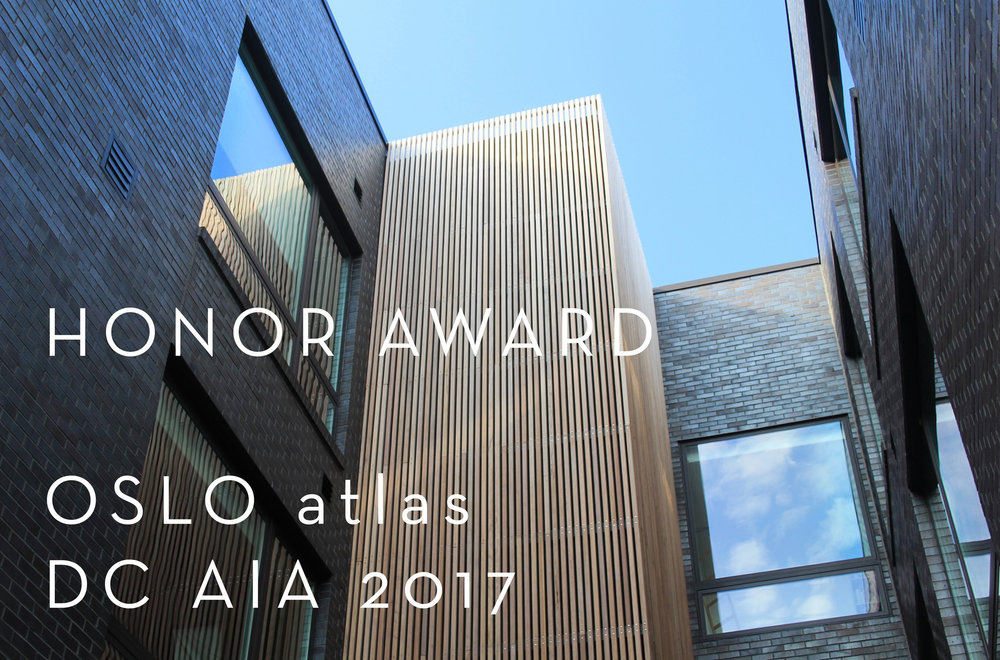 Honor Award, OSLO atlas DC AIA 2017
