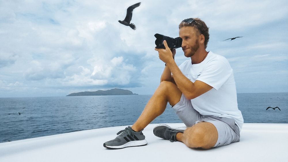 Luxury yacht films super yacht videographer shelton dupreez