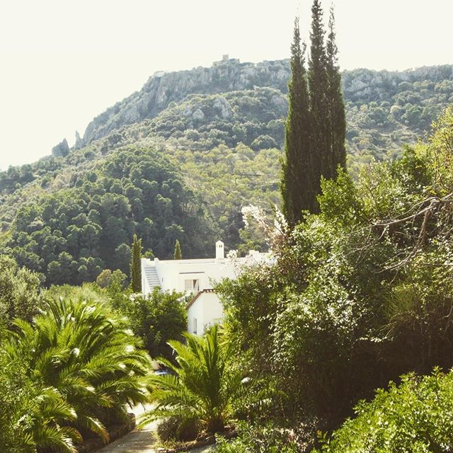 Finca Avedin is tucked away in an incredibly peaceful spot just outside the picturesque village of Gaucín.  A rural oasis and yet only a 15 minute walk to the village. From the house you can enjoy stunning views to Gaucín's Castillo d'Aguila and beyond. #andrelax #holidayhome #holidayinspain #rural #mountains #luxuryfinca #luxuryholiday #gaucín #andalusia #andalucía #somethingspecial #familytime