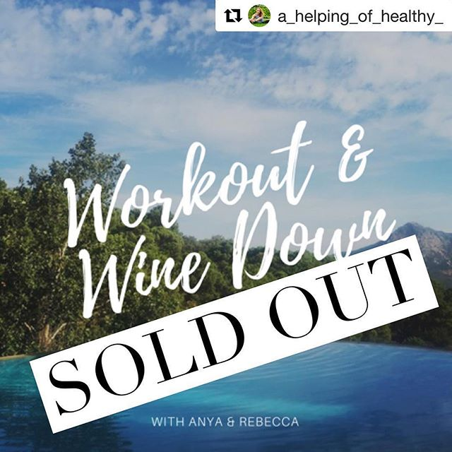 @a_helping_of_healthy_  and @anyarussellfitness have already completely sold out their upcoming retreat!  If you missed out this time, see the link in @a_helping_of_healthy_'s bio to join the list so you're first to find out about future events from the girls. ☀️😊☀️