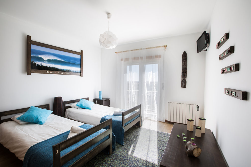 Surf house double room