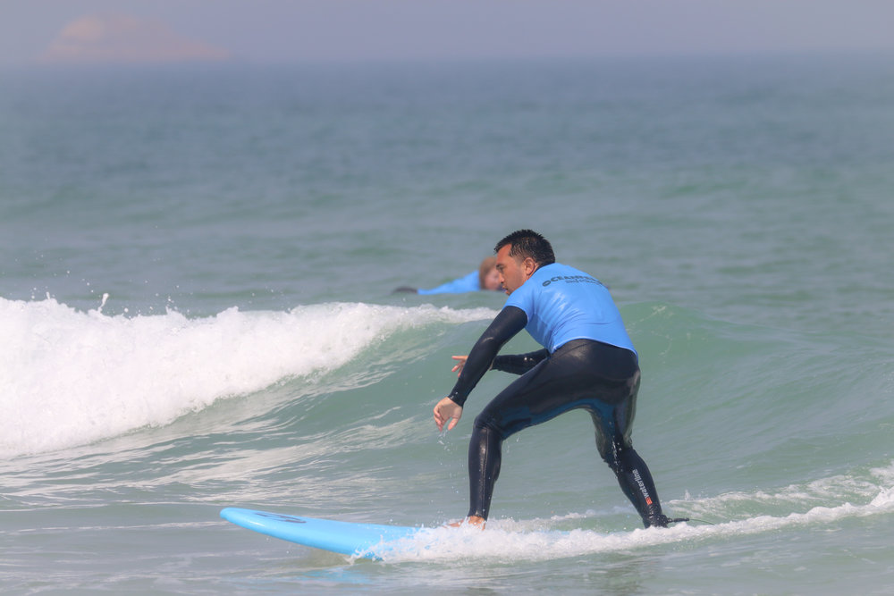 Surf lessons for intermediates