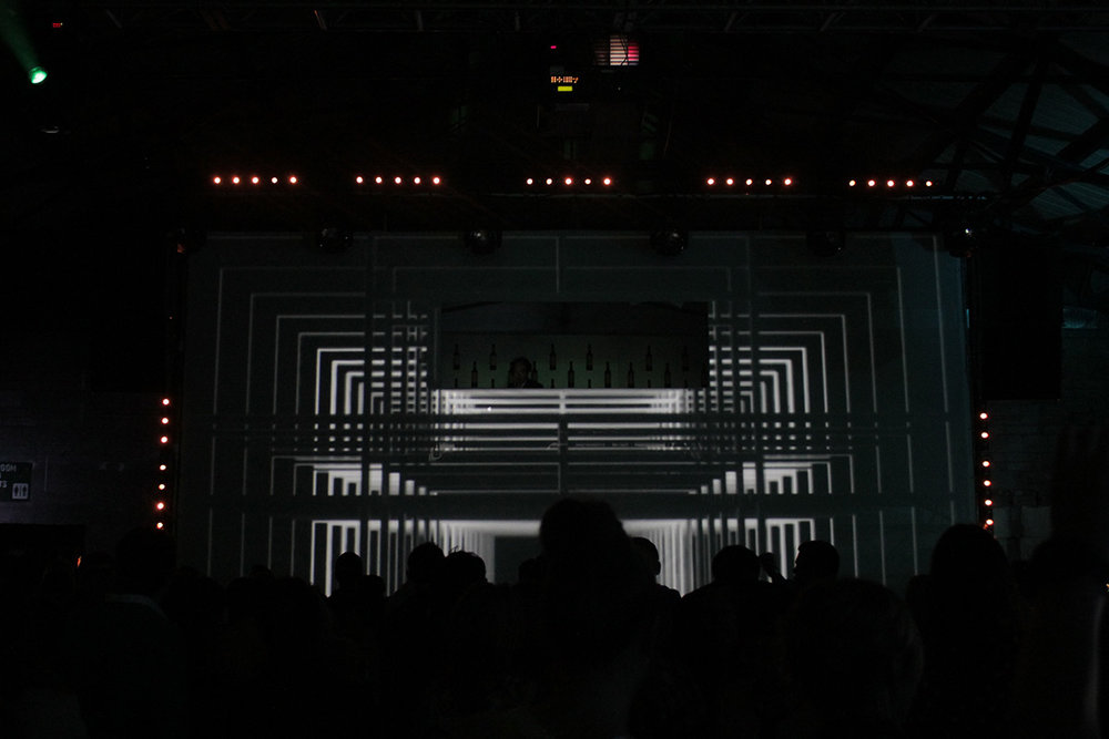 Projection Mapping and 3D Motion Graphics in the DJ Box