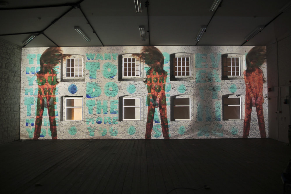 Projection mapping project in Dublin Ireland