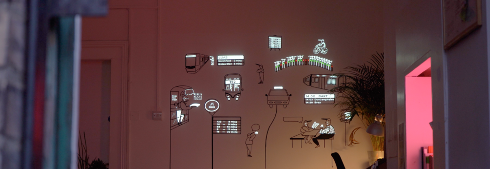 Pixel Mapping Motion Graphics Spectacular View
