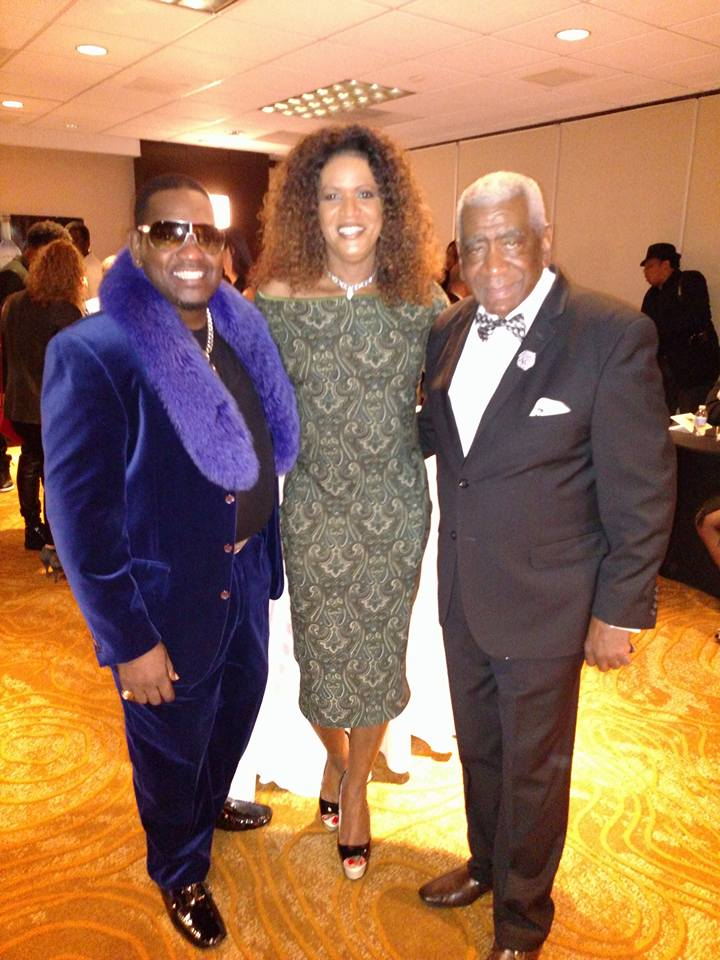 JustRaymona with Vernest Moore(L) and John Blassingame