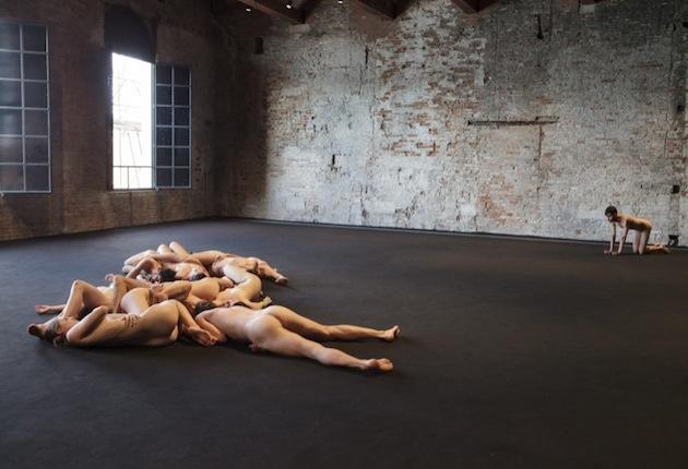 "19 - 28 June 2015 -  performer in  ""title in process (2015)""  long duration performance by Xavier Le Roy for Biennale College Danza, at Sala d'Armi - Arsenale, Biennale Danza Venezia"