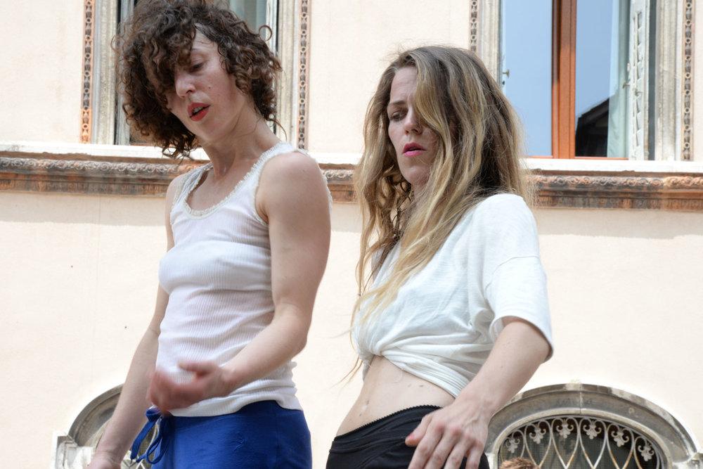 """9 - 22 giugno 2014 -  dancer in  """"Bolero Variations"""" , by Cristina Rizzo, for Biennale College Danza, at Campo Sant'Angelo o dei Morti, Biennale Danza Venezia"""