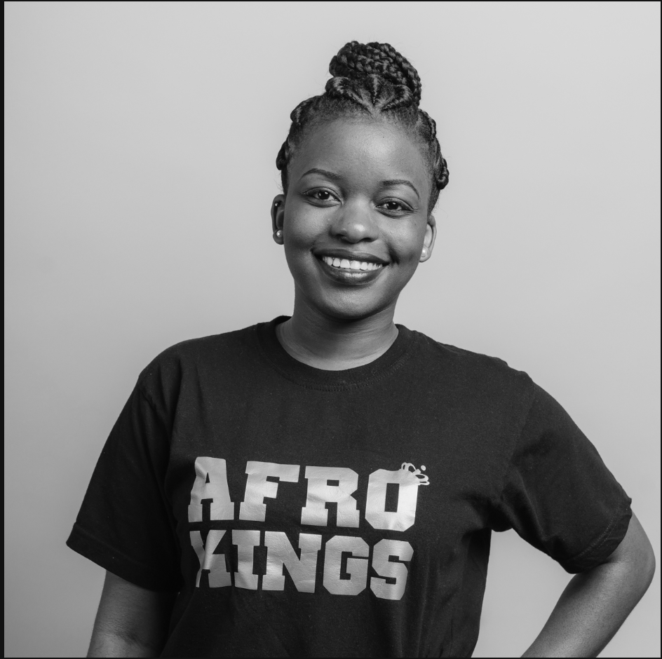 Charlene - Head of Communications & Merchandisecharlene@afrokings.co.uk