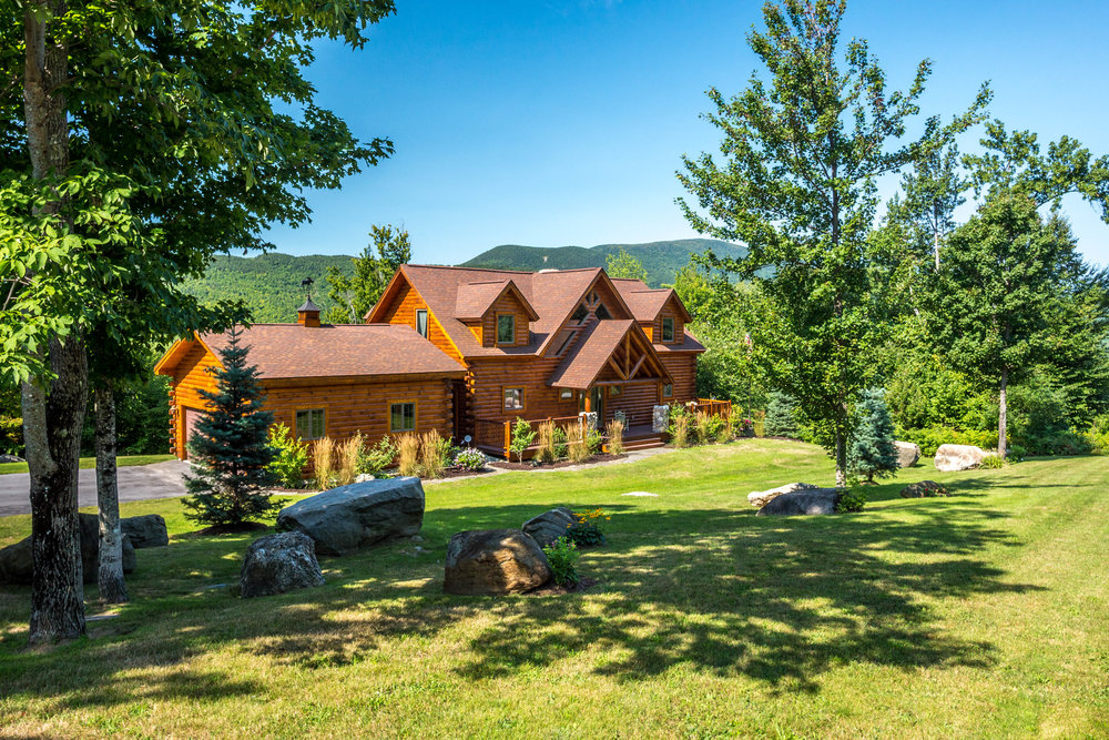 Great Brook Preserve Log Home
