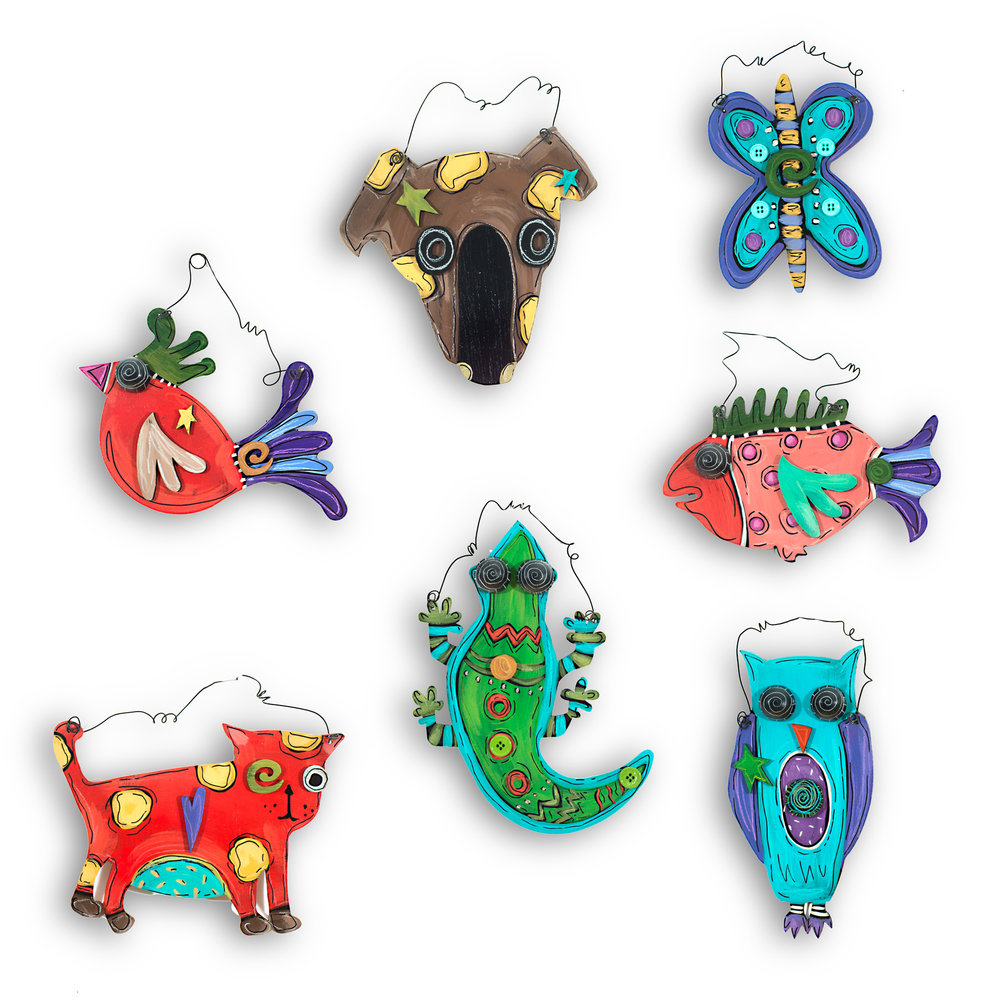 Creature Ornaments   OR15