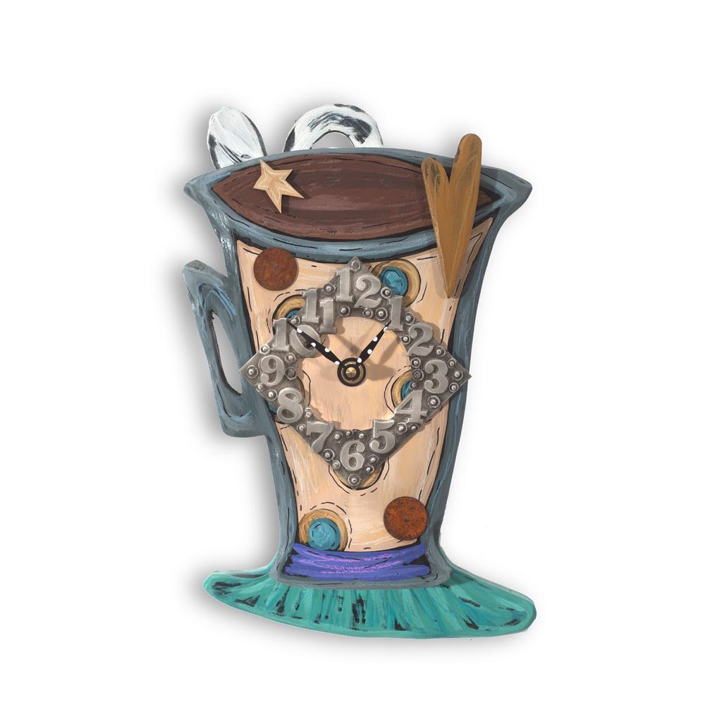 Espresso Time - Our new Espresso Cup Clock CK14