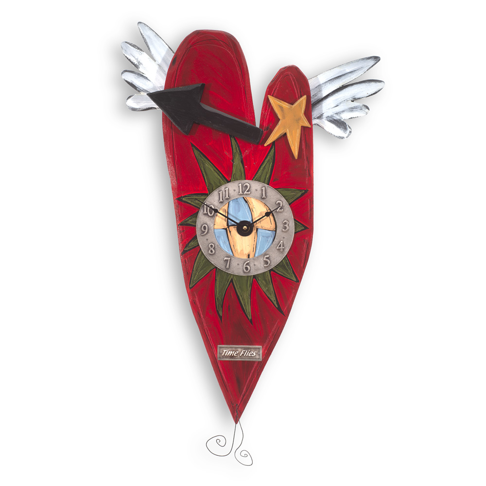Grande Folk Heart Clock CK17