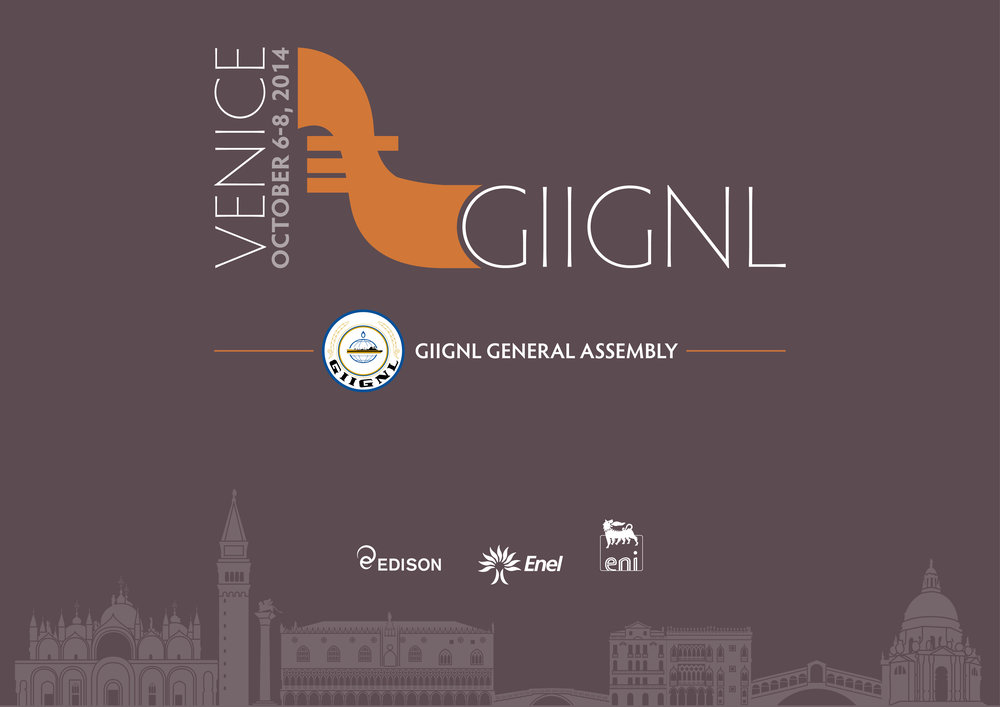 Grafica coordinata GIIGNL General Assembly