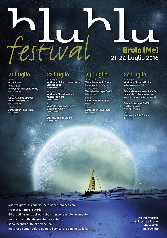 Grafica evento internazionale jazz