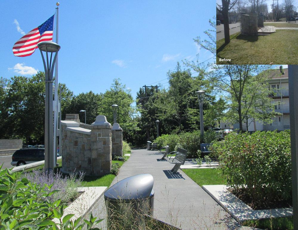 Private James H. Quinn Memorial Square