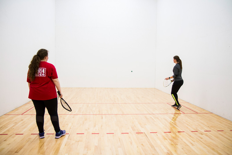 Racquetball Courts -