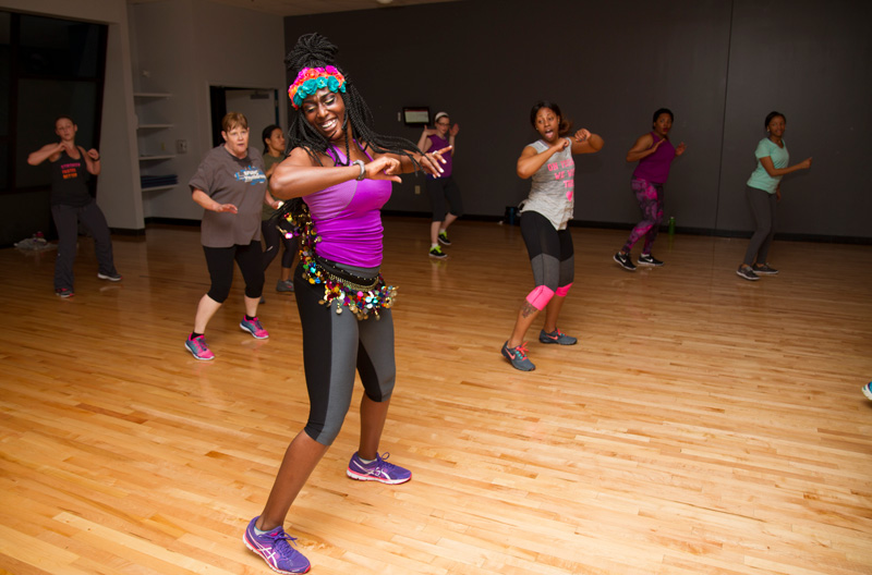 Zumba - Zumba fuses hypnotic Latin rhythms and easy to follow moves to create a dynamic fitness program that will blow you away. See Schedule →