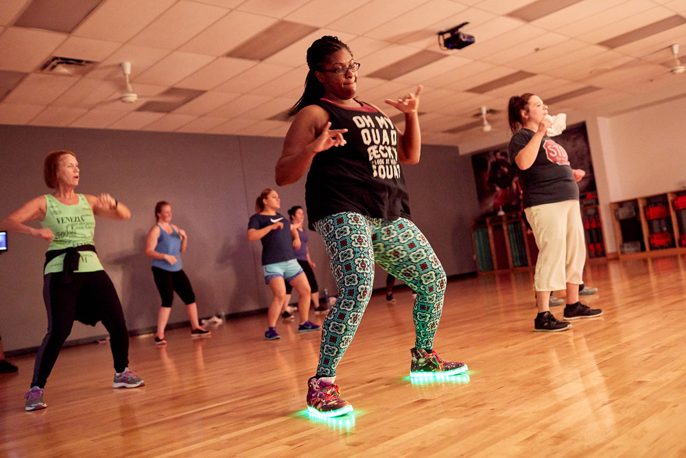 Dance-Fit - Dance style aerobics designed to build cardio endurance and have fun at the same time. This class is for all levels.See Schedule →