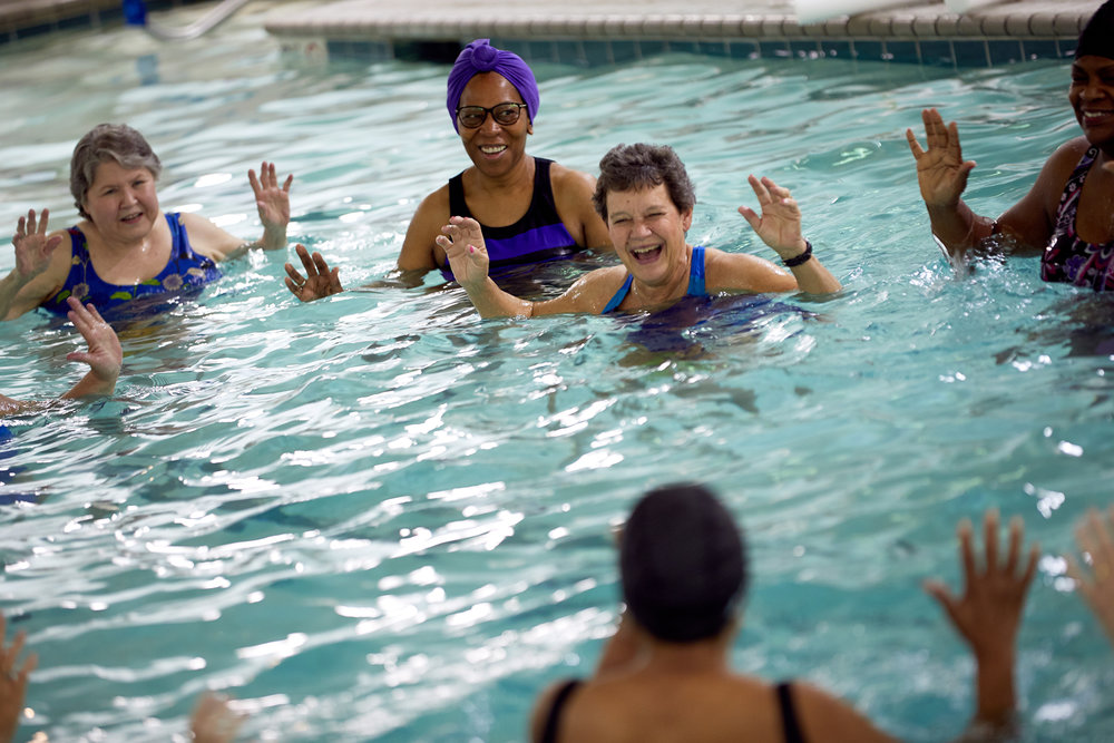 Super Active Seniors - A very fun group with classes like Zumba, Dance-fit, Yoga, etc. as well as Hydro Pilates and Aqua for Arthritis. In addition to classes, we have a monthly potluck along with a movie day and monthly birthday lunch.See Schedule →