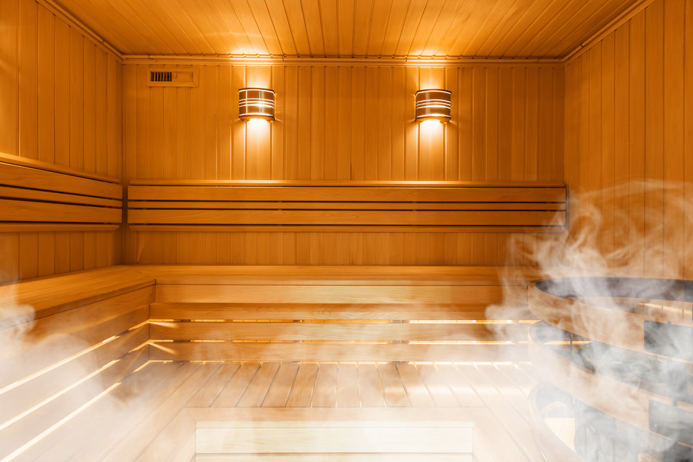Men's Steam Room -
